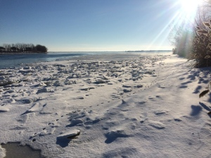 St-Laurent River in January